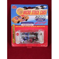 Imperial Die-Cast Ford Racing Micro Stock Cars Jeff Burton Mark Martin NIP