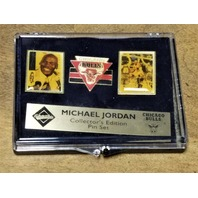 Michael Jordan Collector's Choice Upper Deck Collector's Edition Pin Set