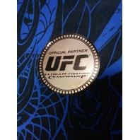 MMA Elite Blue & Black Athletic Workout Gym Shorts Mens Size S UFC NEW NWT