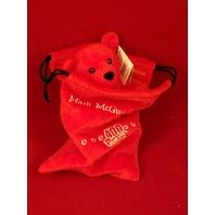 Salvino's Mac Bammers Mark McGwire #25 Beanie Plush Bear In Bag 400 Home Runs