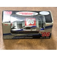 2006 Team Caliber Martinsville Speedway 1:64 Monte Carlo Car Spring April