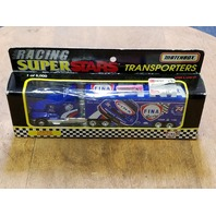 1997 Matchbox White Rose Transporters Super Star 1:80 #74 Randy LaJoie/Fina