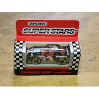 1991 Matchbox Super Stars 1:64 #3 Dale Earnhardt GM Parts Goodwrench NASCAR