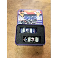 2002 Action Racing Collectables 1:64 #3/3 D.Earnhardt/Jr./2-Car Set In Tin