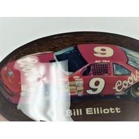 Vintage Bill Elliott #9 Coors Car Belt Buckle Wood NASCAR