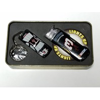 Dale Earnhardt NASCAR Key Chain/Lighter Gift Set in Collectible Tin