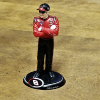 "Dale Earnhardt Jr. #8 NASCAR 4.5"" Tall Figurine Collector Figure Ornament"
