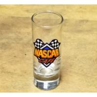 "Vintage NASCAR Cafe Shooter Double Shot Glass 4"" Tall"