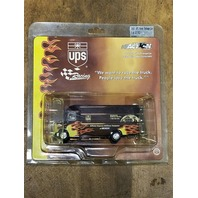2002 Action 1:64 #88 Dale Jarrett /UPS Flame Package Van/Color Chrome /22,752