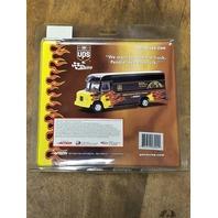 2002 Action 1:64 #88 Dale Jarrett /UPS Flame Package Van/Color Chrome /22,752