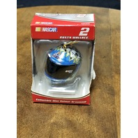 2005 Trevco #2 Rusty Wallace Mini Helmet Christmas Ornament NASCAR NOS