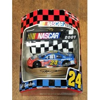 2001 Trevco Jeff Gordon #24 DuPont Car Christmas Ornament NOS