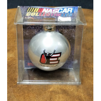 2001 Winner's Circle Dale Earnhardt Sr Silver Christmas Bulb Ornament NOS