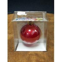 1998 Winner's Circle Jeff Gordon #24 Red Christmas Bulb Ornament NOS NASCAR