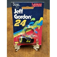 1997 Legends Of Racing Jeff Gordon #24 1:87 Diecast Stock Car Keychain NASCAR
