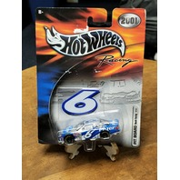 2001 Hot Wheels Racing Pit Board 1:64 #6 Mark Martin/Pfizer