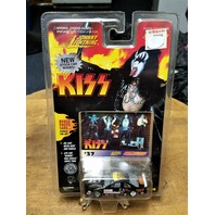 "1997 KISS Johnny Lightning Stock Car #37 Gene Simmons ""Encore! Encore"""