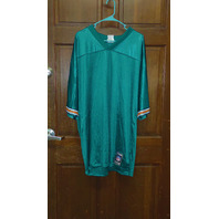 Reebok Teal Green Miami Dolphins #84 Chris Chambers Jersey Men's Size XL