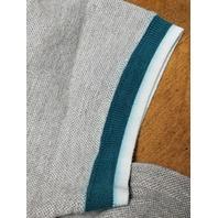 The Edge Miami Dolphins Gray Polo Shirt Men's Size L