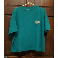 The Edge Miami Dolphins Teal Green T-Shirt Men's Size L