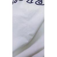 Vintage Pro Player White Miami Dolphins Hooded Windbreaker Jacket Coat Size M