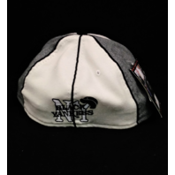 "Negro Leagues Baseball Museum Fitted Cap Hat 6-7/8"" Black Yankees NWT NEW"