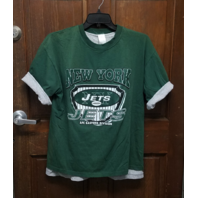 Unbranded New York Jets Men's Layered T-Shirt Green & Gray No Size Football