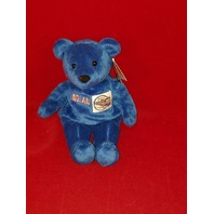 Salvino's Nolan Bammers Nolan Ryan #30 Blue Beanie Plush Toy Bear MLB CA Angels