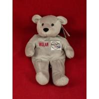 Salvino's Nolan Bammers Nolan Ryan #34 Gray Beanie Plush Toy Bear MLB