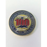 NAS Oceana Air Show 2011 Challenge Coin 100 Years Of Naval Aviation
