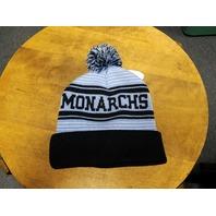 Captivating Headwear ODU Old Dominion Monarchs Pompom Beanie Cap Hat NEW NWT