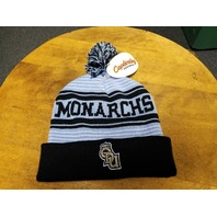 Captivating Headwear ODU Old Dominion Monarchs Pompom Beanie Cap Hat NEW NWT