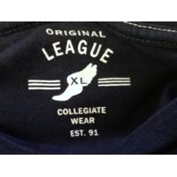 Original League Navy Blue ODU Old Dominion Monarchs T-Shirt Size XL NCAA