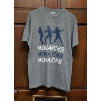 League Classic Fit ODU Old Dominion University Monarchs Gray T-Shirt Size L NCAA