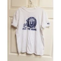 ODU Old Dominion Monarchs Football White T-Shirt Feel The Roar No Size