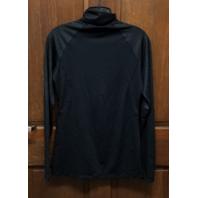 Under Armour HeatGear Semi-Fitted 1/2 Zip Baltimore Orioles Black L/S Shirt Sz M