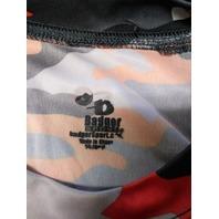 Badger Sport Baltimore Orioles Orange Camo T-Shirt Size L Baseball MLB