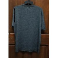 NFL Team Apparel TX3 Cool Gray Carolina Panthers Athletic T-Shirt Size L
