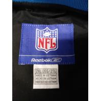 Reebok NFL Carolina Panthers Black Pullover Jacket Size XXL 2XL Football