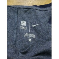NFL Team Apparel New England Patriots Heathered Blue T-Shirt Womens Size S Small