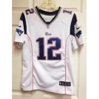 Nike NFL On Field Ladies Tom Brady New England Patriots Jersey Shirt Size L