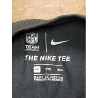 New England Patriots Crucial Catch Gray T-Shirt Women's Size XXL 2XL
