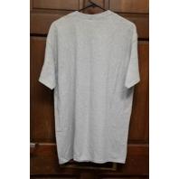 "Gildan Ultra Cotton New England Patriots Gray T-Shirt ""They Hate Us"" Mens Size L"