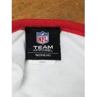 NFL Team Apparel Boston Patriots Waffle Thermal LS Shirt Womens Sz L New England