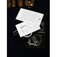 G-III 4Her By Carl Banks Black Pittsburgh Penguins T-Shirt Sequins Size L NWT