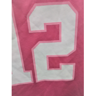 Green Bay Packers Aaron Rodgers #12 Pink Jersey Style T-Shirt Size M 10-12