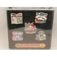 2006 St Louis Cardinals World Series Champions Limited Edition Pin Set 288/5000