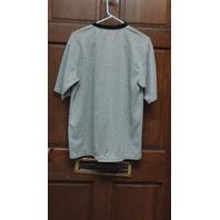 Stitches Pittsburgh Pirates Baseball Gray V-Neck Jersey Shirt Size L/XL
