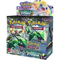 One Pokemon TCG Sun & Moon Celestial Storm Booster 10 Card PACK (Sealed/English)