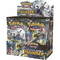 Pokemon TCG Sun & Moon Lost Thunder Booster 6 Box Case (Sealed)(English)